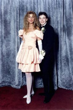 Jimmy Fallon Prom Picture vintage everyday: These 25 Celebrity Prom Photos That Are Just As Awkward As Yours! Jennifer Aniston, Jennifer Lopez, Matthew Mcconaughey, Brad Pitt, Rihanna, Beyonce, Danielle Fishel, Funny People Pictures, Prom Pictures