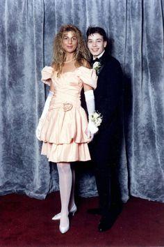 Rare Celebrity Prom Photos