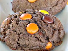 Reese's Peanut Butter Candy Chocolate Cookies