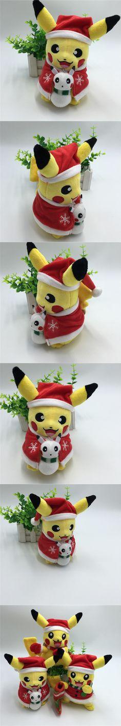New Stylish Pikachu Plush Toys Christmas Gift for Children 20cm Pokemon Toys Pokemon Pikachu Stuffed Plush Doll Baby Kids Toy