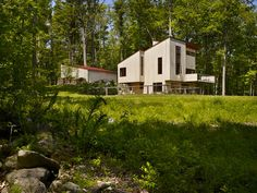 Imposing Dream Home In The Woods Changing A Writer's Lifestyle