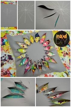 Mood DIY: Flower Cut-Out Pillow   Check out this quick tutorial for an easy fabric manipulation pillow cover!