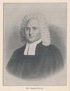Reformed Anglicans: 26 September 1759 A.D.  Rev. Samuel Davies Install...