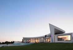Modern Cliff View Mansion - Colunata by Mario Martins in Lagos Portugal - Destination Luxury