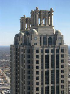 thetriumphofpostmodernism:  191 Peachtree Tower Atlanta...