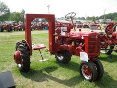 '53 Farmall Super C - Christmas Tree Tractor