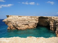Sea Caves at Pori, Koufonisia, Greece