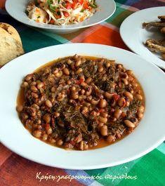 Dessert Recipes, Desserts, Greek Recipes, Vegetarian Recipes, Beans, Lunch, Vegetables, Cooking, Food