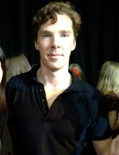 Taken at Cabin Pressure recording 06.01.13.I want to twirl that curl around my index finger so damn bad!