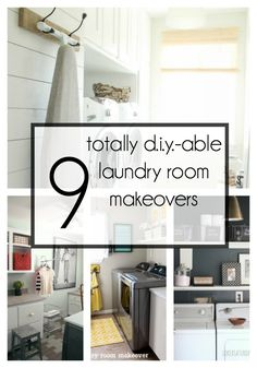 9 Totally Do-able DIY Laundry Room Makeovers | Houseologie