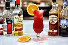 Check out the Mongolian MotherF*cker! This strong drink has enough alcohol to do the trick, but is masked well by a delicious combination of orange and cranberry juice. For the recipe, visit us here: http://www.tipsybartender.com/blog/2015/9/14/the-mongolian-motherfcker