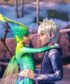 { Jack Frost and Tooth Fairy }