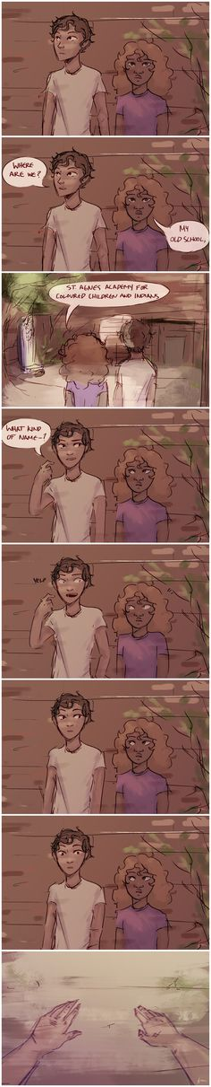 Hazel Levesque bringing Leo Valdez to her old school Hazel Levesque, Percy Jackson Fan Art, Percy Jackson Fandom, Solangelo, Percabeth, The Lost Hero, Sea Of Monsters, Trials Of Apollo, Leo Valdez