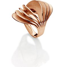 Women's Rose Gold Ring by Carla Amorim sunny ring ($4,685) ❤ liked on Polyvore featuring jewelry, rings, rose, red gold jewelry, pink gold rings, 18 karat gold ring, rose jewellery and 18 karat gold jewelry
