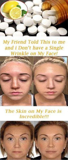 The face is one of the most precious parts of the whole body and it's the most pretentious by age. We start noticing wrinkles and spots on our face comes on our face. In order to overcome this iss… Beauty Care, Beauty Skin, Beauty Secrets, Beauty Hacks, Face Wrinkles, Wrinkle Remover, Tips Belleza, Facial Care, Skin Treatments