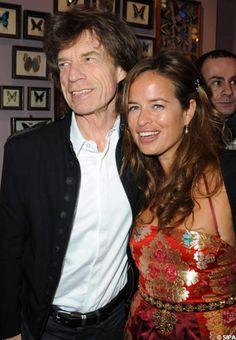 Mick Jagger fier de sa fille Jade Jagger