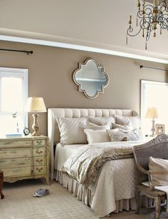 Beautiful neutral master bedroom designs (59)