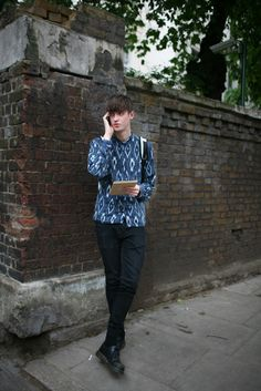 They Are Wearing: London Men's Fashion Week Spring 2014 - Slideshow - WWD.com