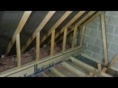Garage Loft Conversion in Bovey Tracey Loft Conversion Floor Joists, Loft Conversion Roof, Loft Conversions, Eaves Storage, Loft Storage, Attic Renovation, Attic Remodel, Attic Spaces, Attic Rooms