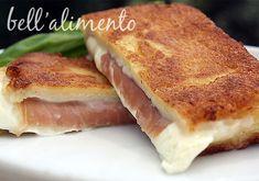 Mozzarella in Carrozza {Fried Mozzarella Sandwiches}