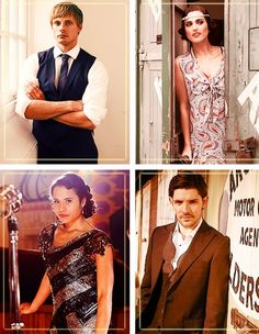 The Fantastic Four + vintage clothes --- I love this! They look awesome. --Maid of Lorraine<<yup