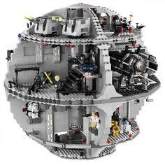 Lego Star Wars Death Star blake wants this bug its $399.... omg