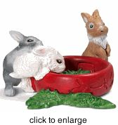 Schleich - Baby Rabbits - Retired - click to enlarge 1