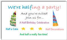 Half Birthday Party Ideas: Our First Half Birthday Celebration Happy Half Birthday, Late Birthday, 4th Birthday Parties, Birthday Fun, Birthday Ideas, Birthday Celebrations, Birthday Cakes, Half Birthday Calculator, Birthday Photos