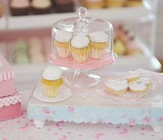 Sweet Petite Old Fashion Cupcakes in Glass by SweetPetiteShoppe, $22.00