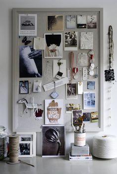 Home Office Inspiration Wall Cork Boards Ideas Inspiration Wand, Inspiration Boards, Design Inspiration, Monday Inspiration, Workspace Inspiration, Fashion Inspiration, Soho House, Photoshop Design, Sweet Home