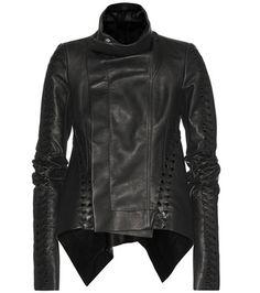 Rick Owens Naska Leather Jacket For Spring-Summer 2017