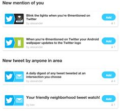 FTTT Rolls Out Powerful New Twitter Triggers For Searches, Mentions, Location Tracking And More