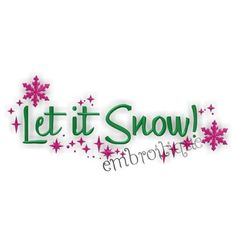 Embroidery Designs (All) - Let it Snow Stars Holiday Embroidery Design on sale now at Embroitique! Embroidery Files, Machine Embroidery Designs, Embroidery Patterns, Let It Snow, Let It Be, Monogram Alphabet, Monogram Fonts, Create Name, Download Digital
