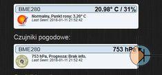 Temperature & Humidity & Pressure - BME280