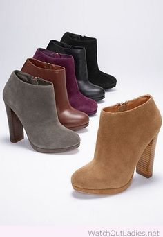 Fall booties for casual outfits