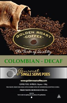 Decaffeinated Coffee Pods  18 Count Box Fits Senseo * To view further for this item, visit the image link. (This is an affiliate link and I receive a commission for the sales)