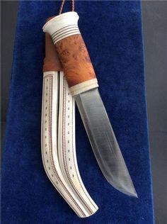 Halvhornskniv Huggare av Thore sunna Samekniv på Tradera.com - Knivar