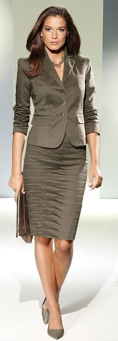 skirt suit for professional women