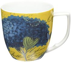 Waechtersbach Accents Impressions Mugs Hydrangea in Blue Set of 4 >>> You can get additional details at the image link.
