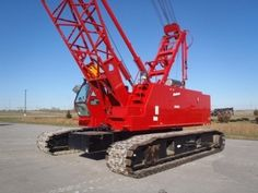Manitowoc Crawler Cranes    http://www.rockanddirt.com/cranes-for-sale/MANITOWOC/crawler-cranes