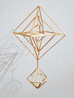 Handmade Ornaments, Handmade Christmas, Paper Chandelier, Indoor Outdoor Furniture, Wire Art, Good Company, Mobiles, Wind Chimes, Triangle