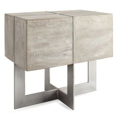 Clifton Rectangular End Table from Z Gallerie
