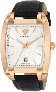 Versace Men's Tonneau Gold Plated Watch | Your #1 Source for Watches and Accessories