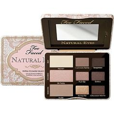 Too Faced Natural Eyes Neutral Eye Shadow Collection: $36
