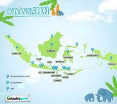 Die schönsten Inseln in Indonesien