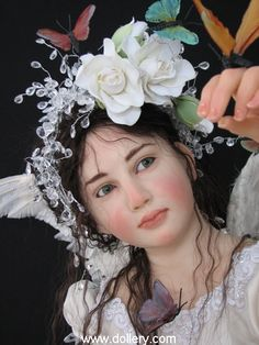 *FAIRY ~ This is a doll produced by, Jamie Williamson, The Dollery
