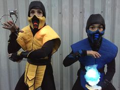 Subzero and scorpion Mortal Kombat