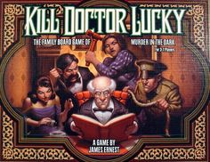 Kill Doctor Lucky | Image | BoardGameGeek — I have the print and play of this one.