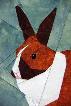 Dutch Rabbit paper-piecing | Craftsy