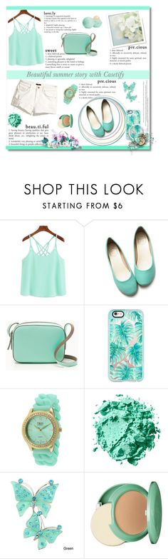 """Beautiful summer story with Casetify"" by aa-fashion-girls ❤ liked on Polyvore featuring Ollio, J.Crew, Casetify, TKO Orlogi, Clinique, Eos, Summer and contestentry"